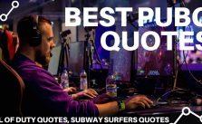 PUBG Best Quotes